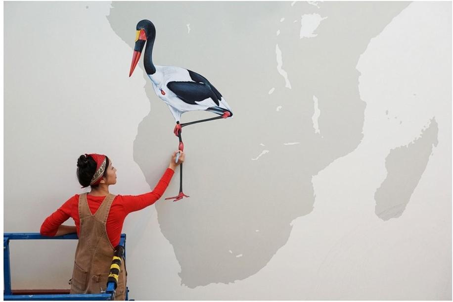 Endangered Birds to the Facades of Manhattan 12