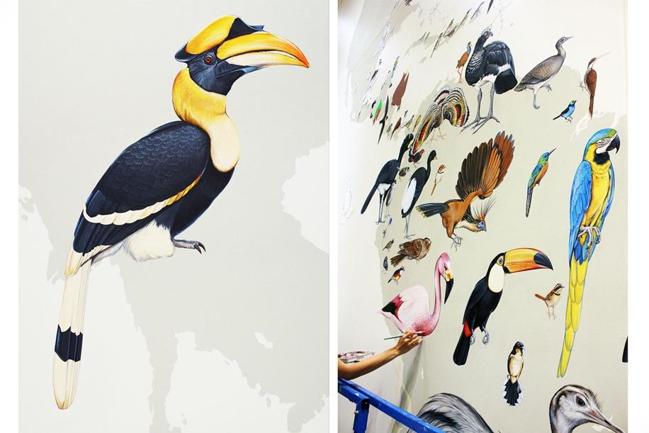 Endangered Birds to the Facades of Manhattan 17
