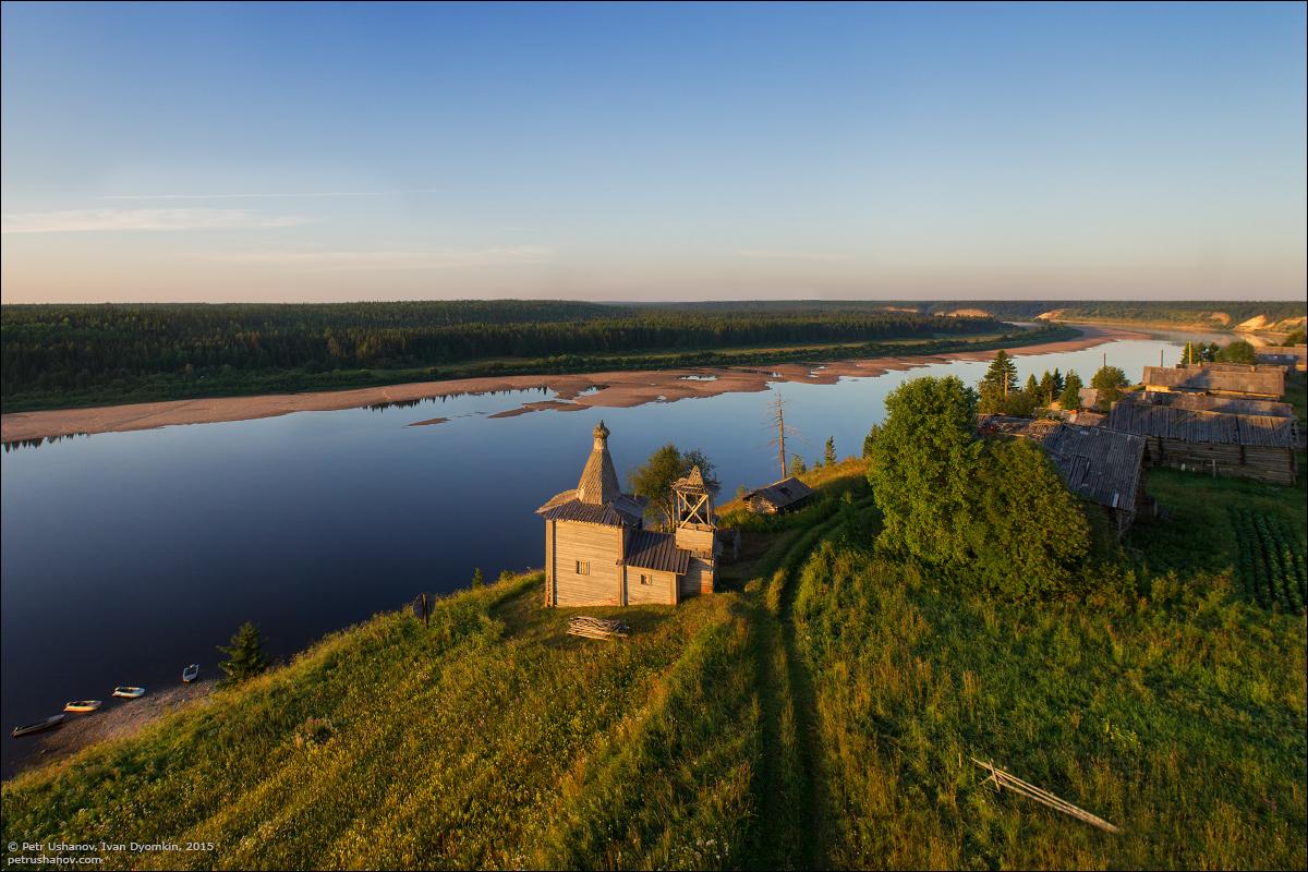 Hotohori and Kicinska - Two villages on Pinega 02
