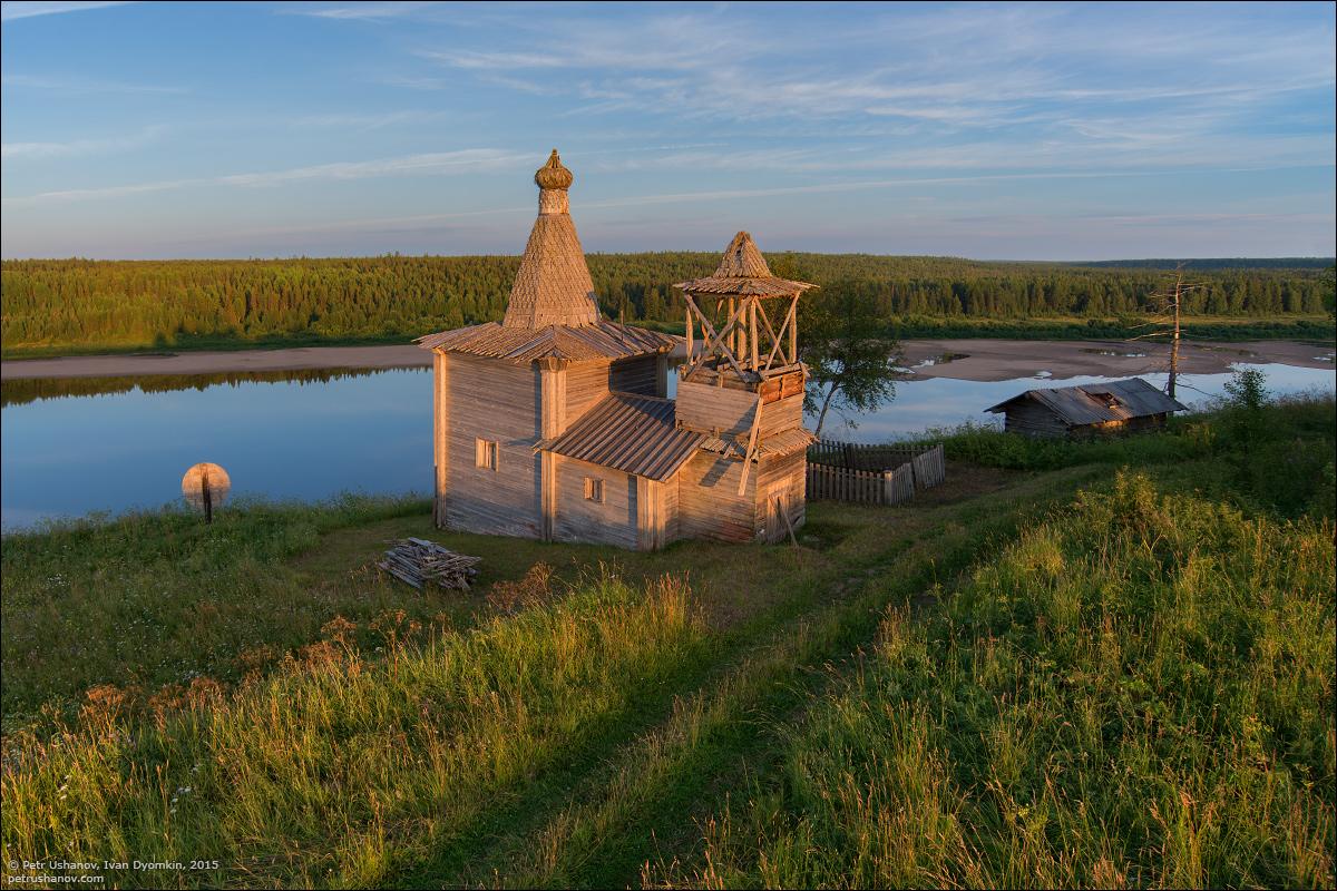 Hotohori and Kicinska - Two villages on Pinega 03