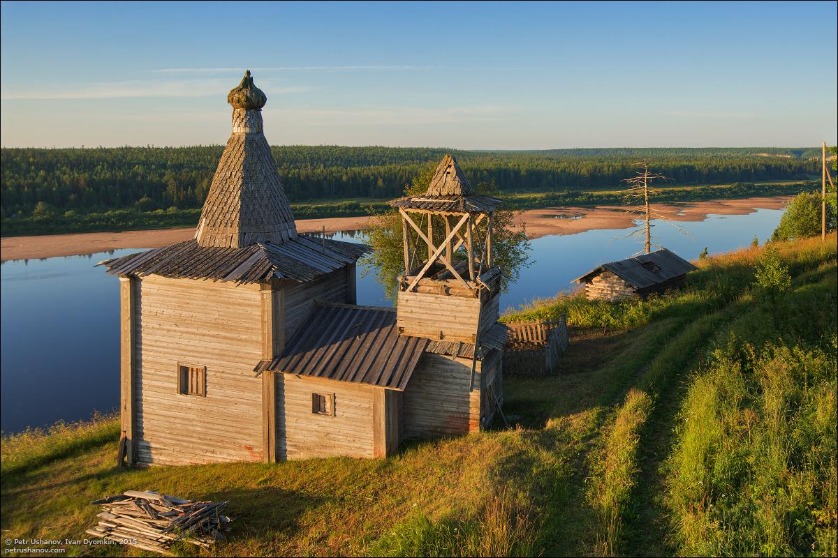 Hotohori and Kicinska - Two villages on Pinega 04