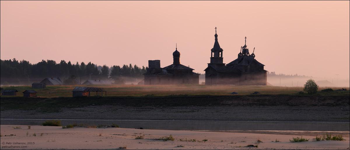 Hotohori and Kicinska - Two villages on Pinega 05
