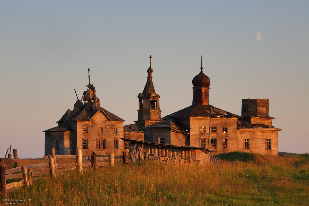 Hotohori and Kicinska - Two villages on Pinega 06