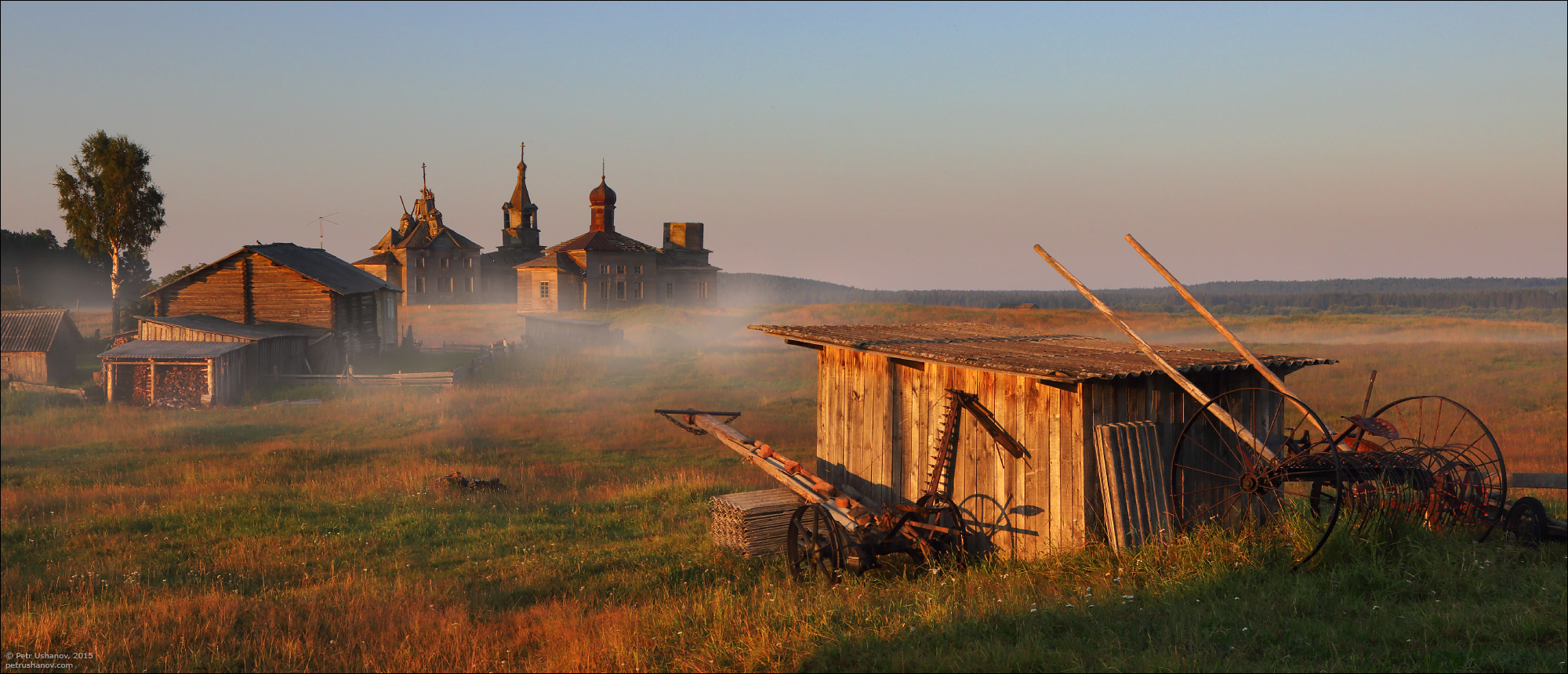 Hotohori and Kicinska - Two villages on Pinega 12a