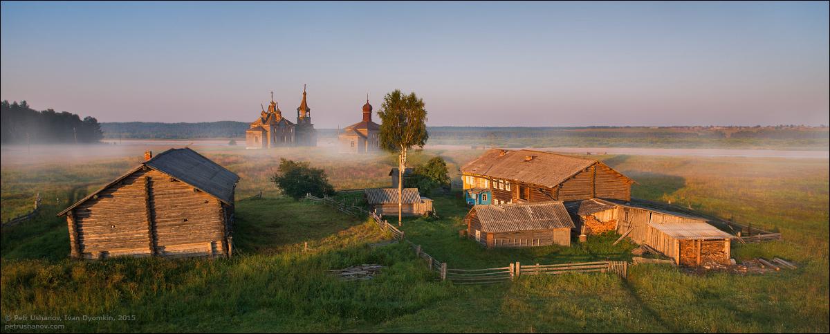 Hotohori and Kicinska - Two villages on Pinega 13