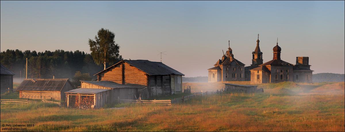 Hotohori and Kicinska - Two villages on Pinega 14