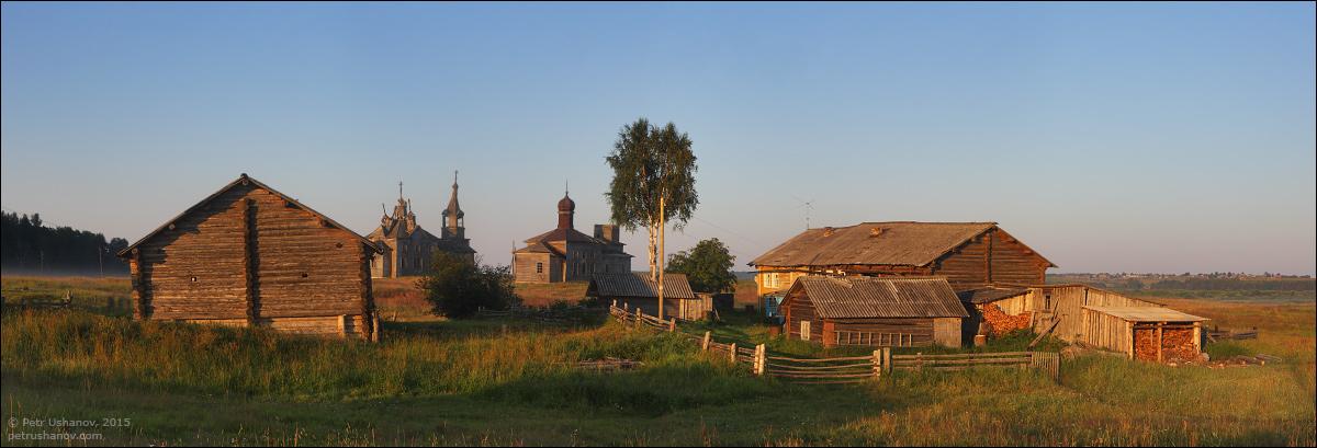 Hotohori and Kicinska - Two villages on Pinega 15