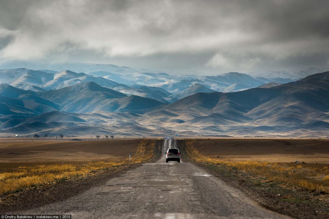 Можно ли наснимать из автомобиля красивых пейзажей?