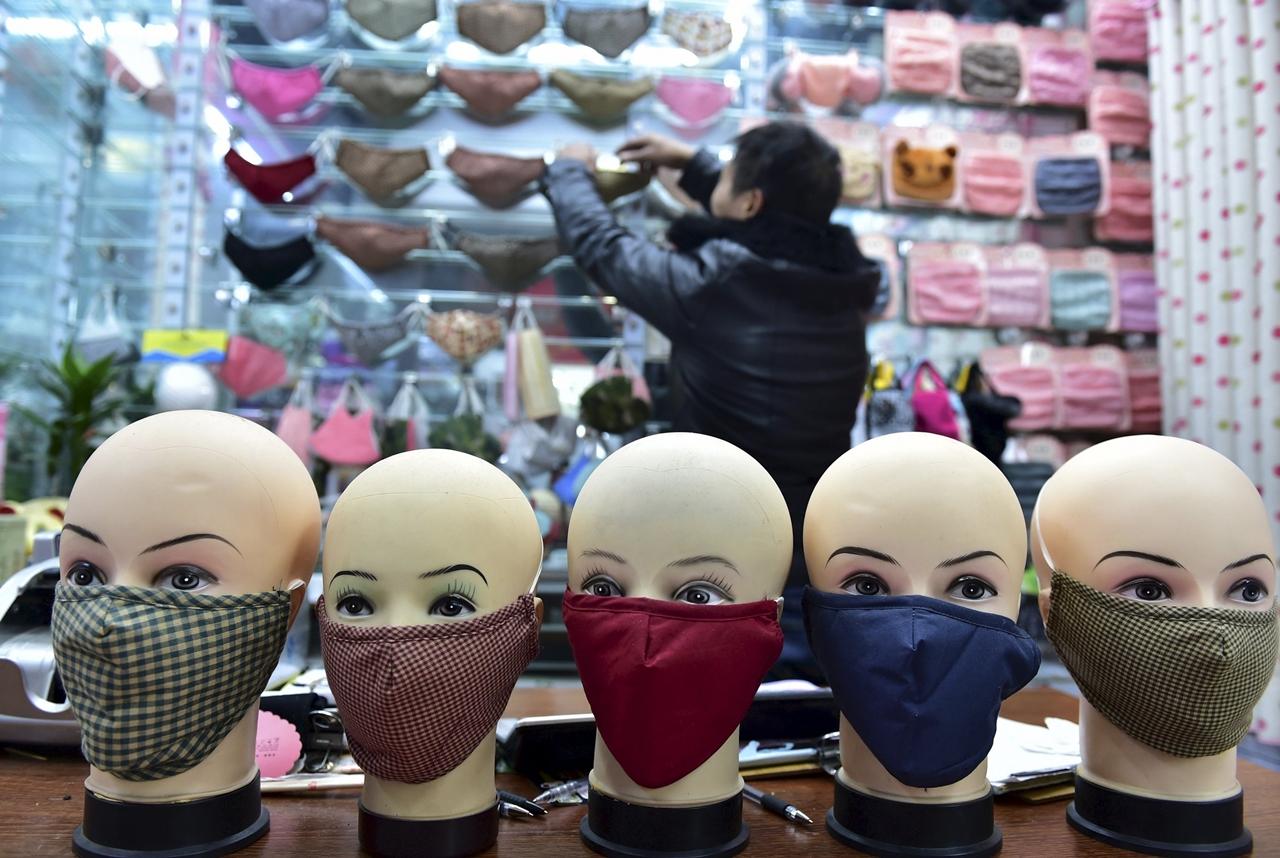 Mask Fashion in China 01