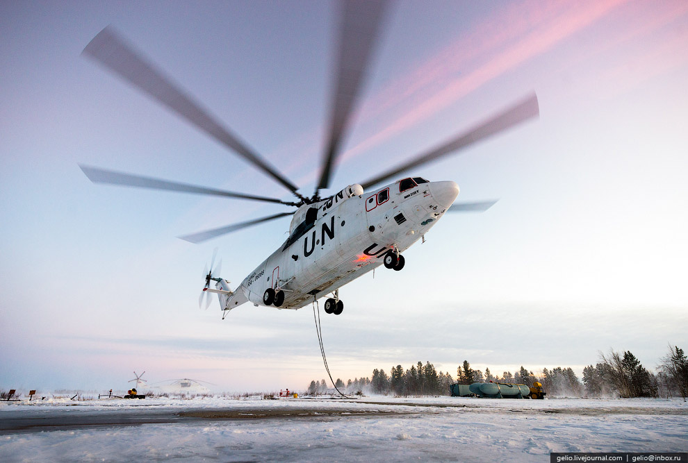 Mi-26 — biggest helicopter in the world 04