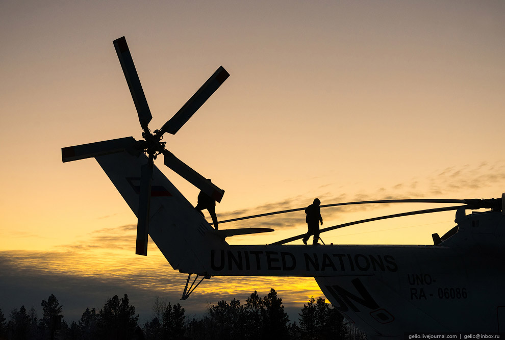 Mi-26 — biggest helicopter in the world 34