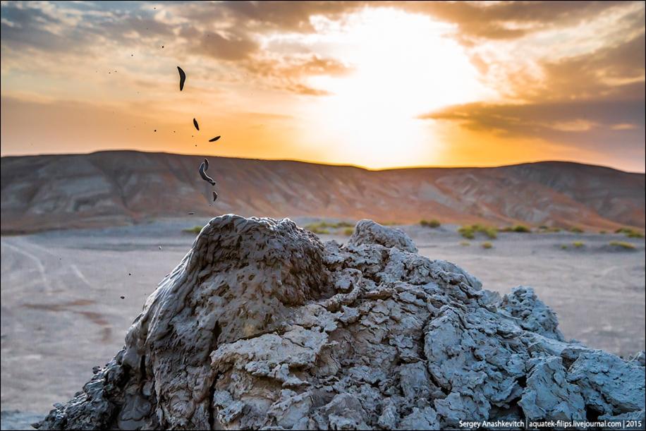 Mud volcanoes of Gobustan 06