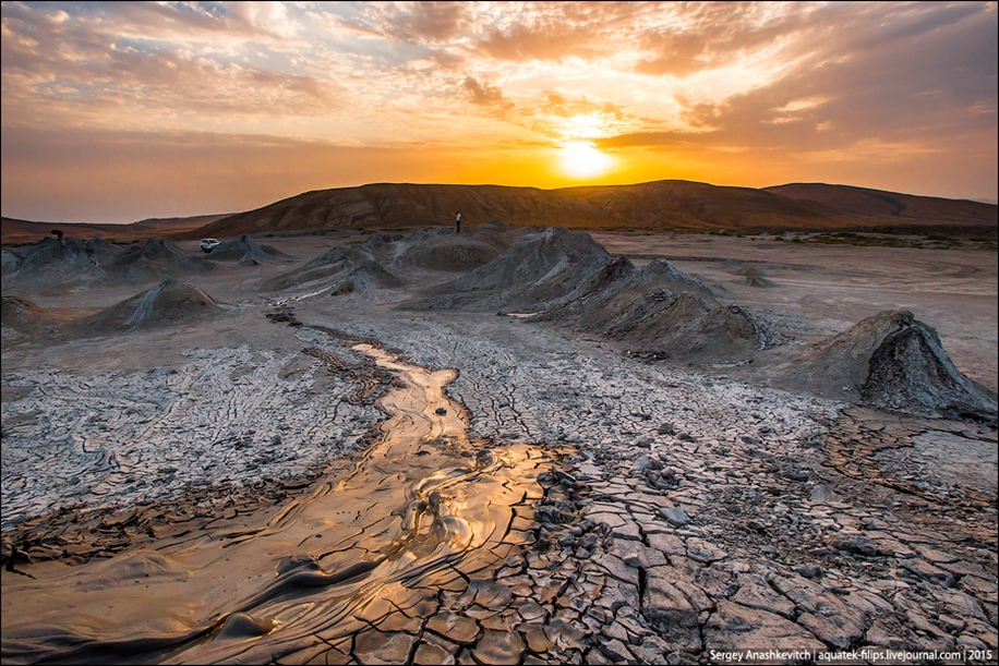 Mud volcanoes of Gobustan 07