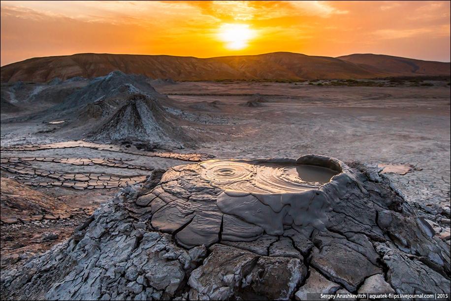 Mud volcanoes of Gobustan 08