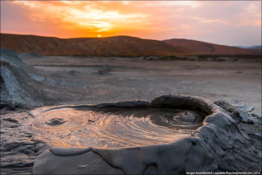 Mud volcanoes of Gobustan 11