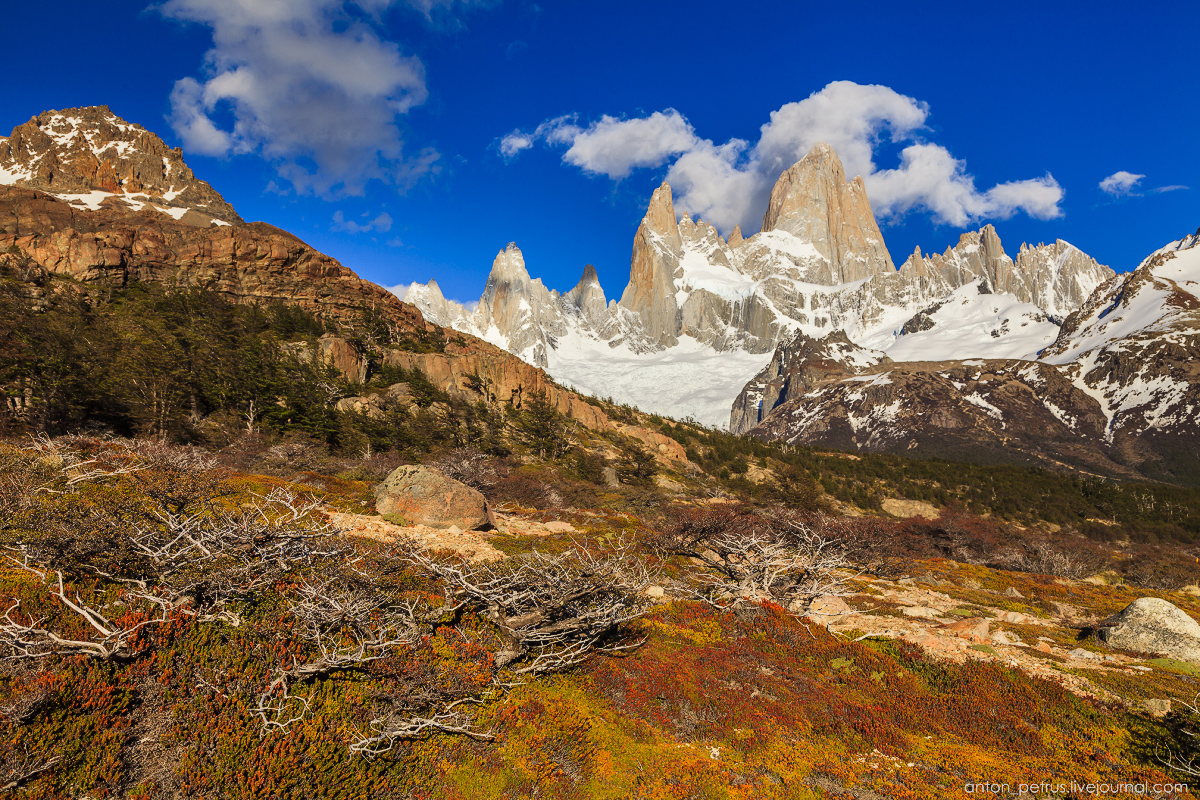 Patagonia. At the foot of Fitz Roy 03