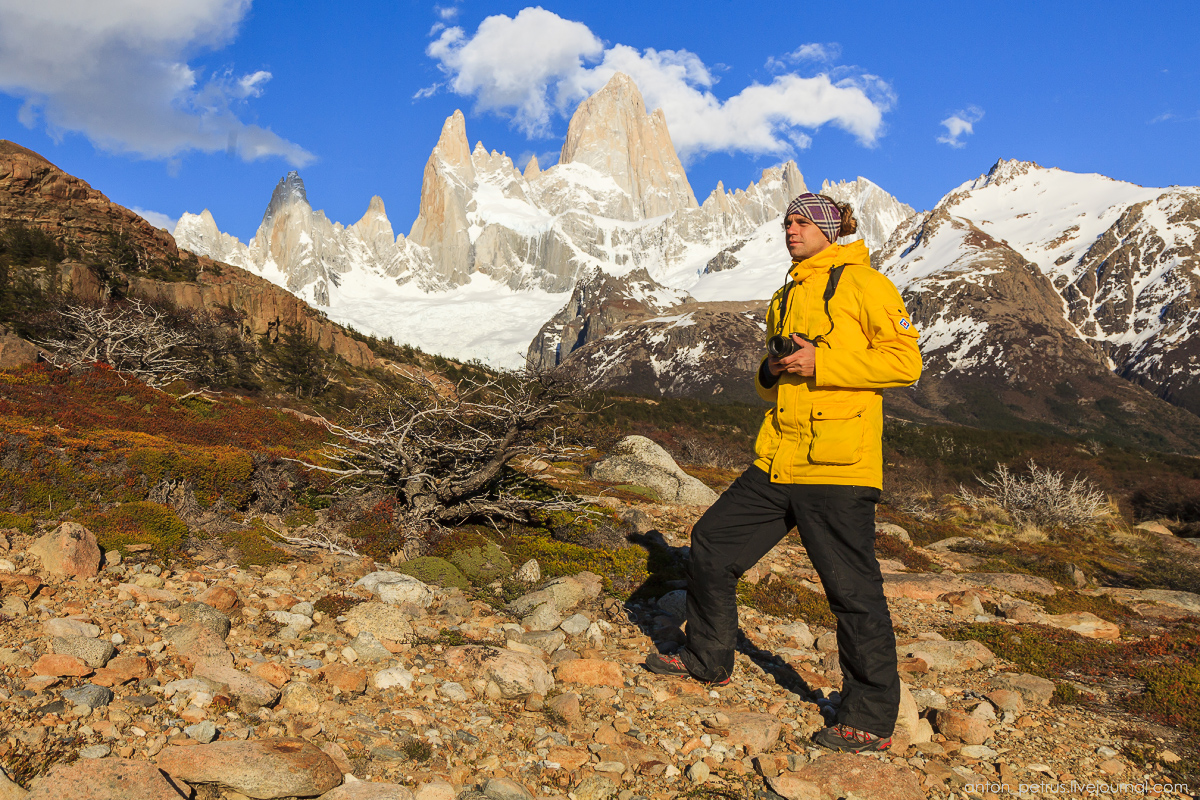 Patagonia. At the foot of Fitz Roy 04