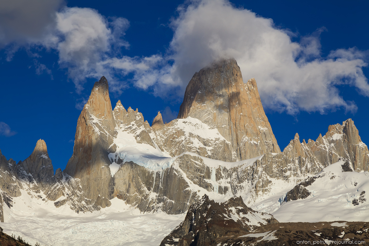 Patagonia. At the foot of Fitz Roy 05