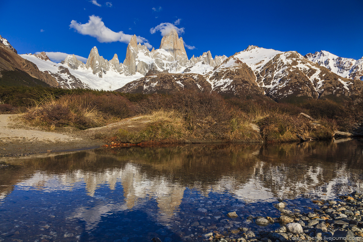 Patagonia. At the foot of Fitz Roy 06