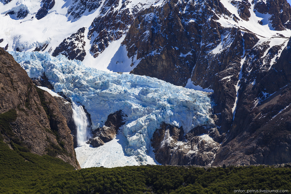 Patagonia. At the foot of Fitz Roy 11