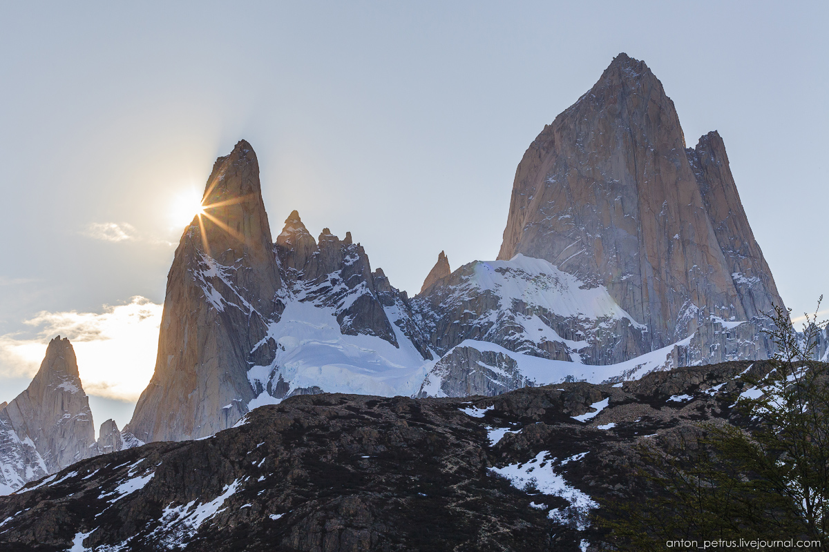 Patagonia. At the foot of Fitz Roy 12