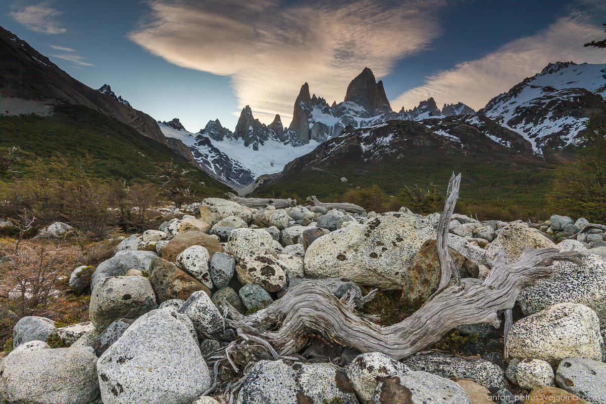 Patagonia. At the foot of Fitz Roy 14