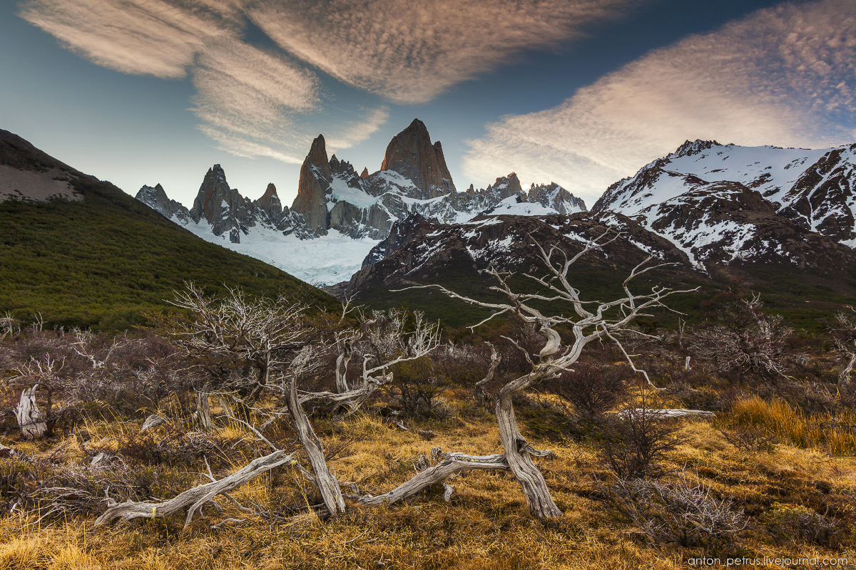 Patagonia. At the foot of Fitz Roy 15