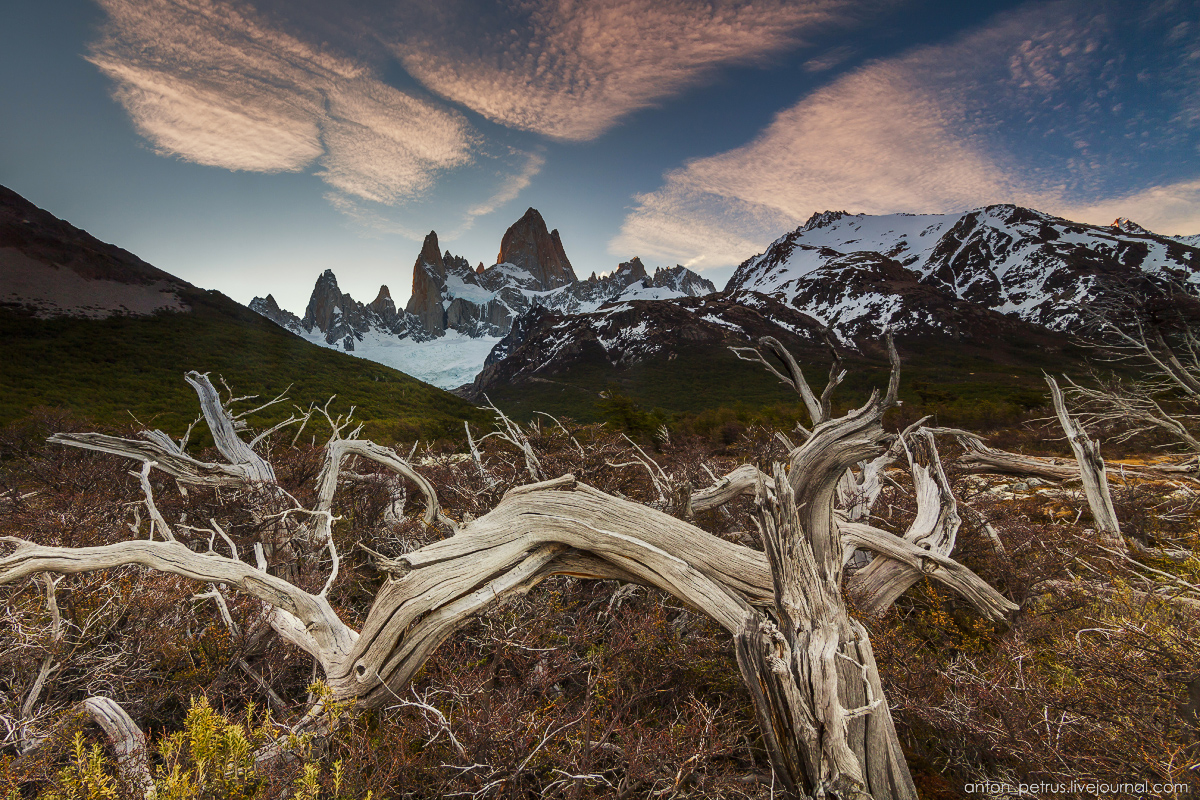 Patagonia. At the foot of Fitz Roy 16