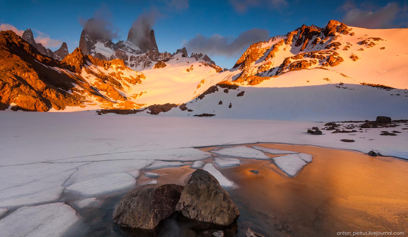 Patagonia. Laguna de Los Tres 12