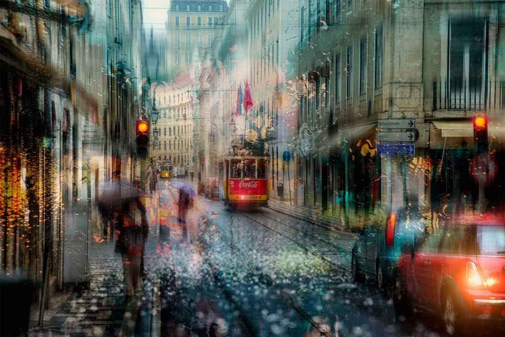 Photos of rainy weather, which look like oil paintings 04