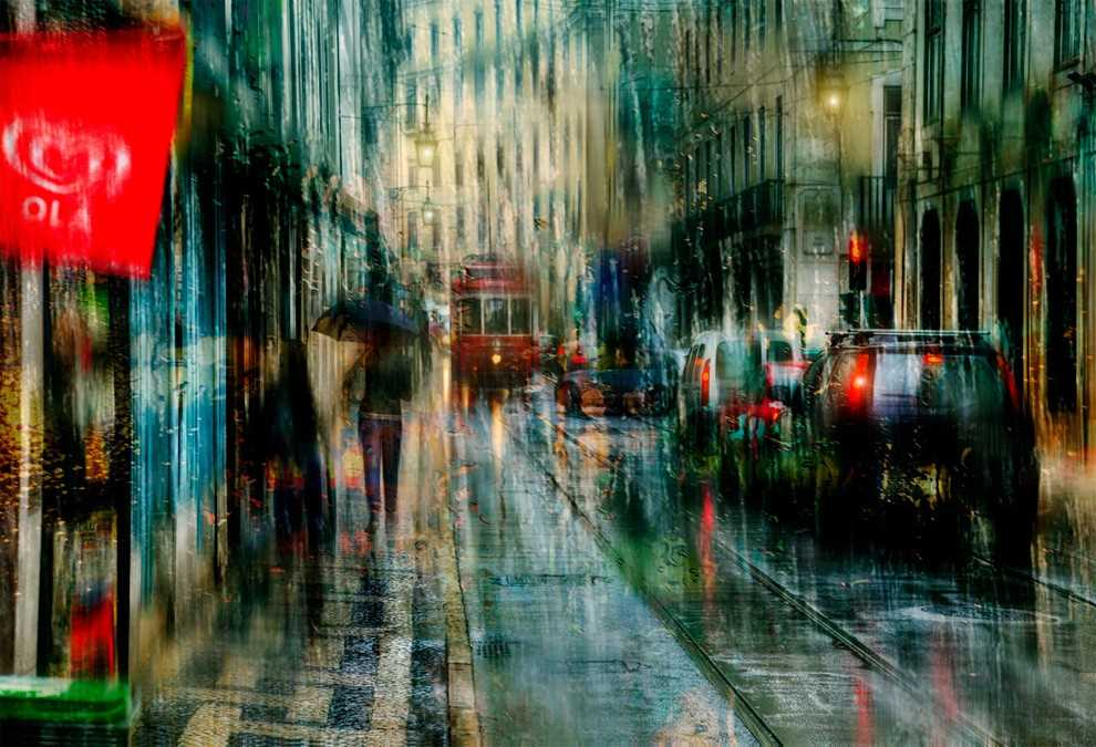 Photos of rainy weather, which look like oil paintings 06
