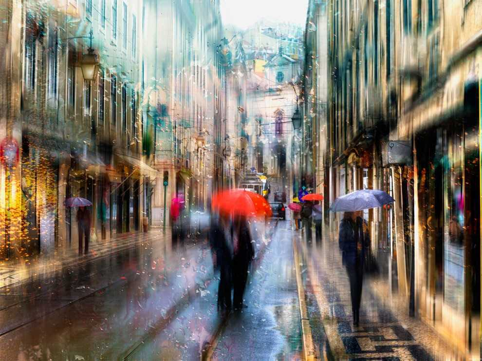 Photos of rainy weather, which look like oil paintings 08