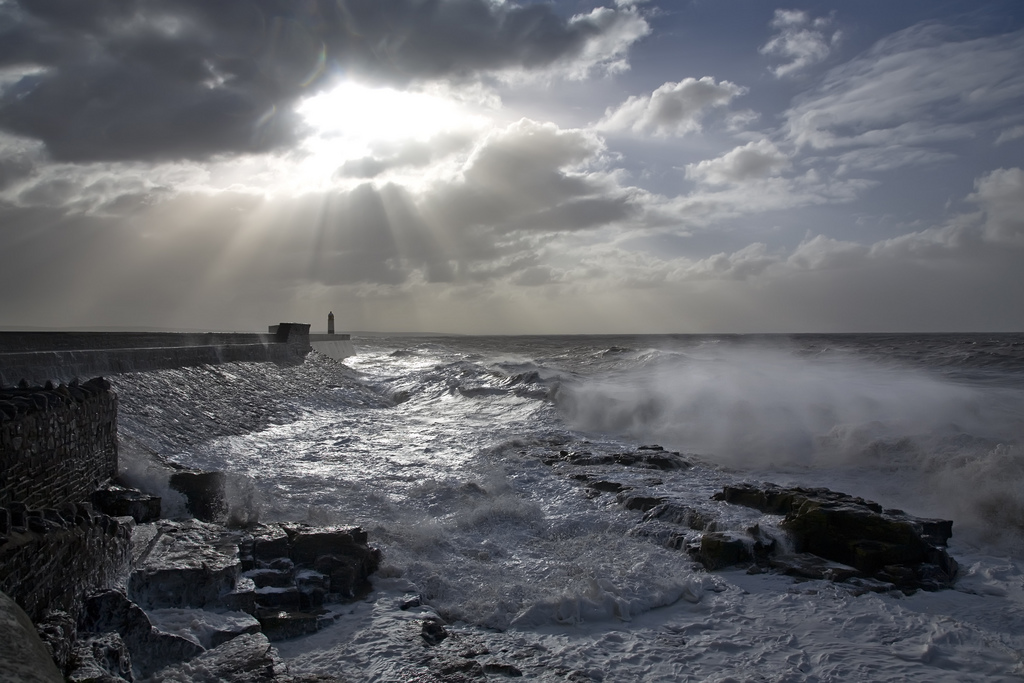 Photos of storms at Porthcawl 05