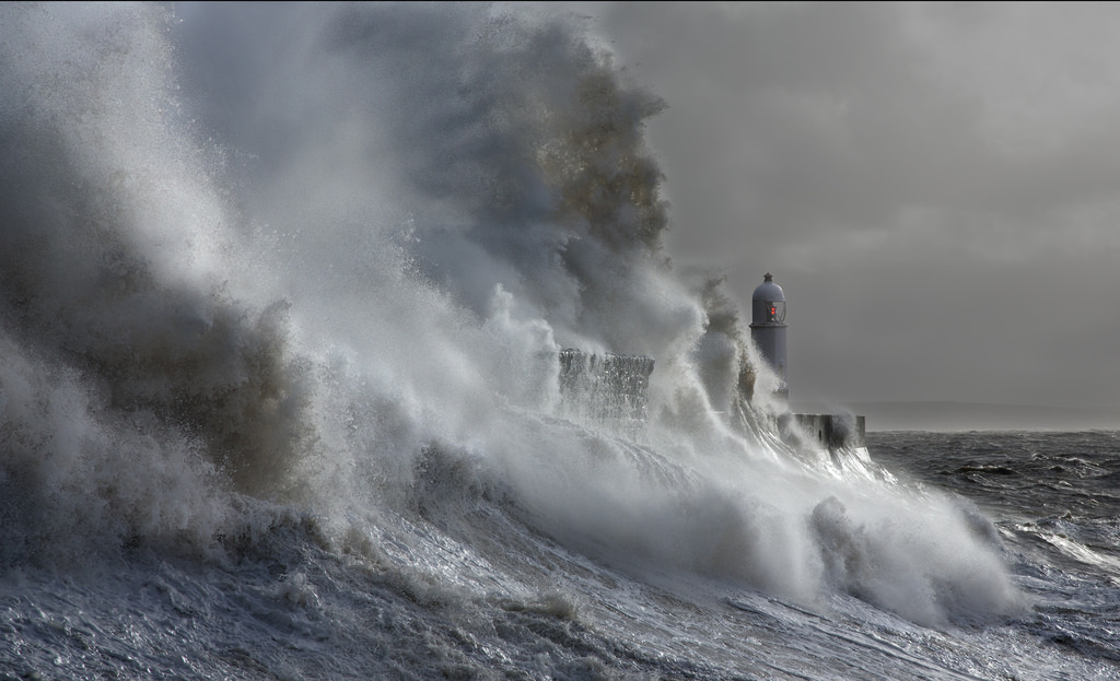 Photos of storms at Porthcawl 10