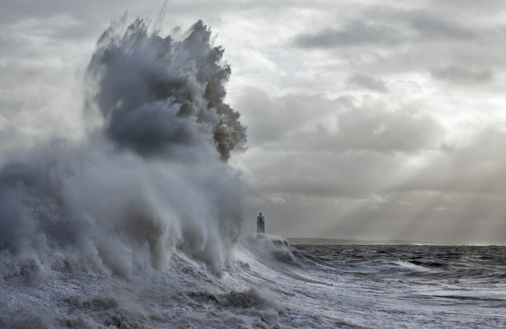 Photos of storms at Porthcawl 11