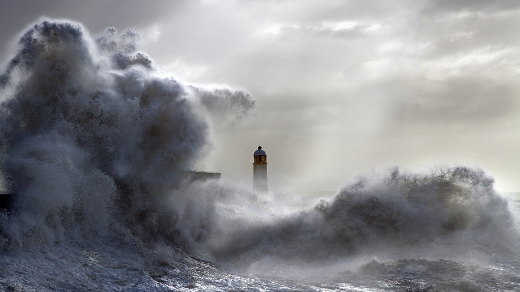 Photos of storms at Porthcawl 12