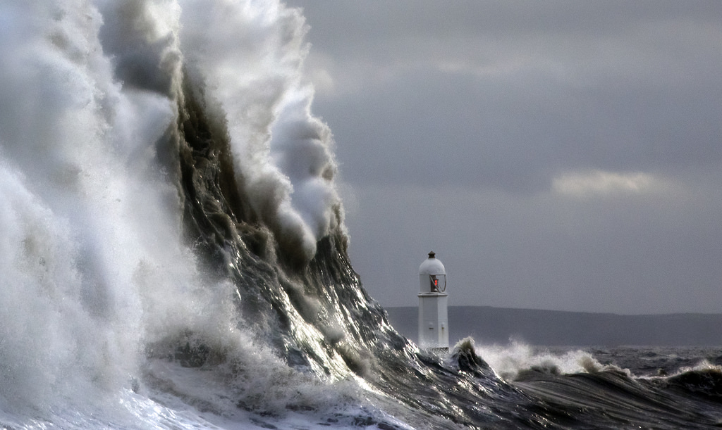 Photos of storms at Porthcawl 15