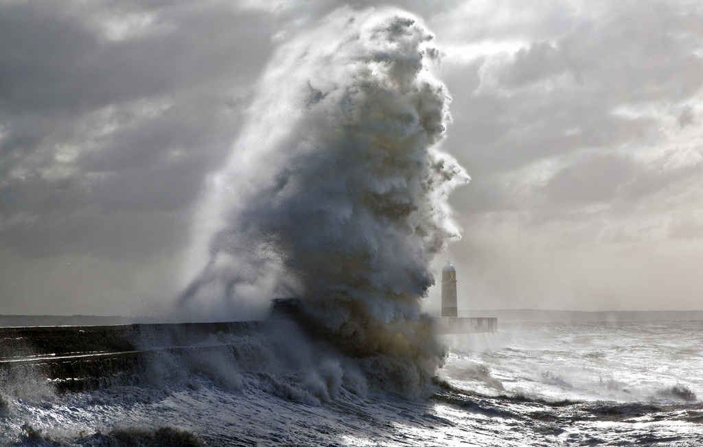 Photos of storms at Porthcawl 17