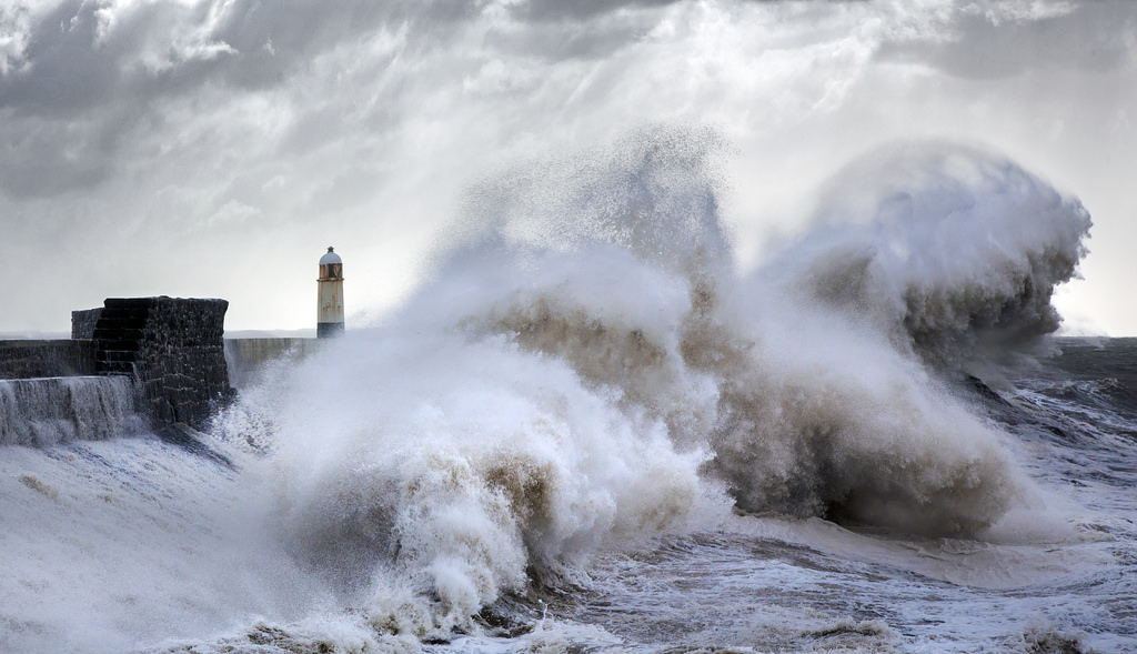 Photos of storms at Porthcawl 20