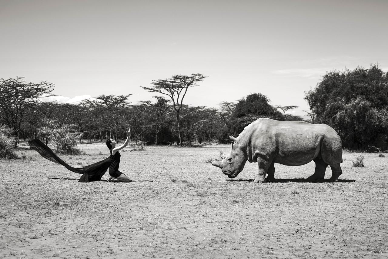 Photoshoot with endangered animals 07