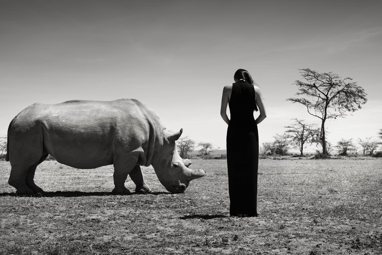 Photoshoot with endangered animals 08