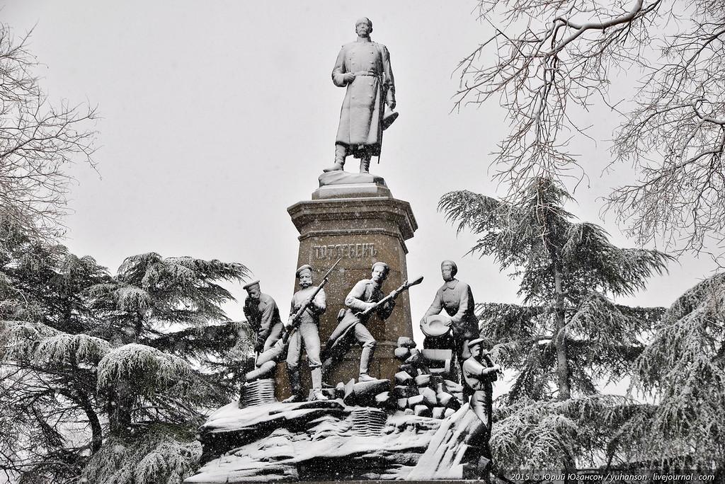 Севастополь. Зима у порога