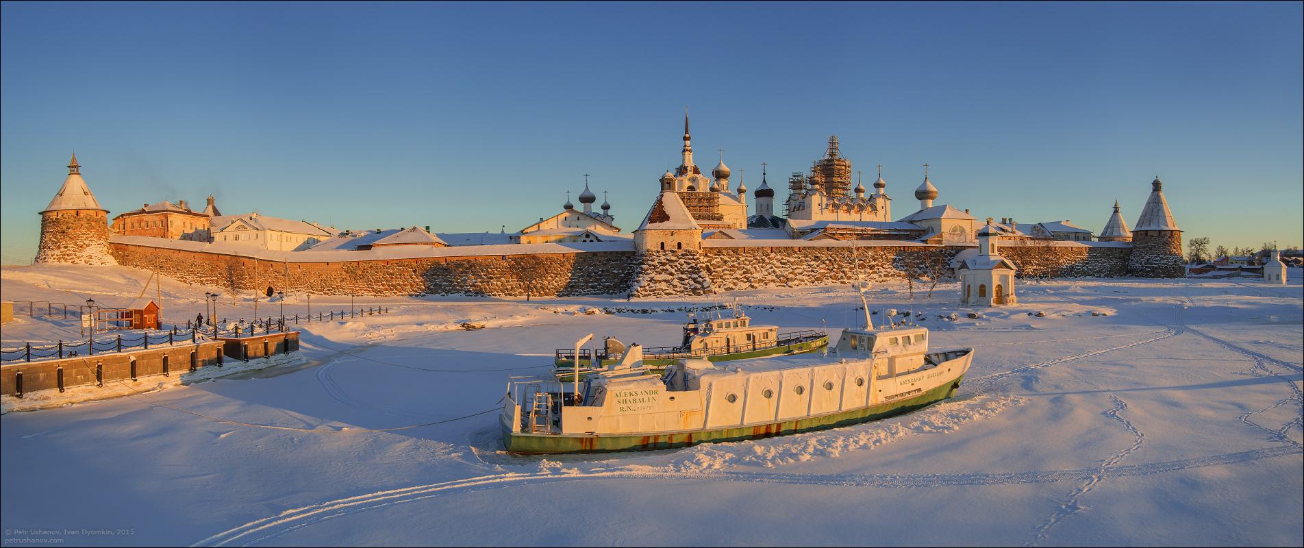 Соловки — Красота зимнего сурового севера