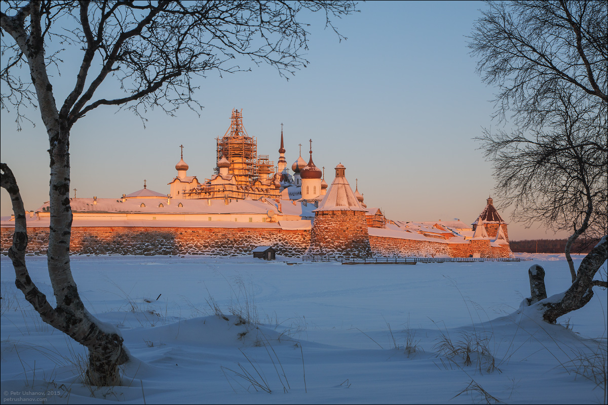 Solovki - the harsh winter Beauty of the North 07