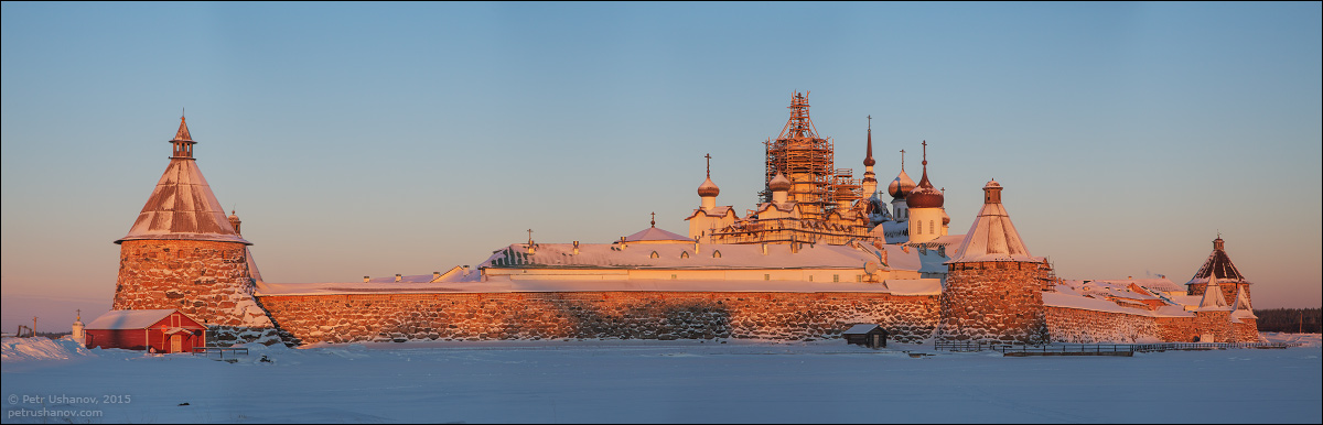 Solovki - the harsh winter Beauty of the North 08