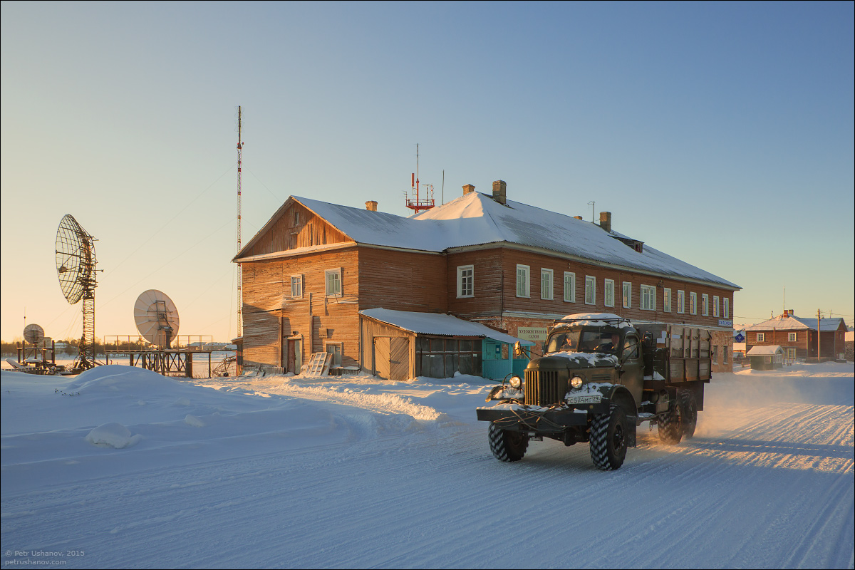 Solovki - the harsh winter Beauty of the North 09