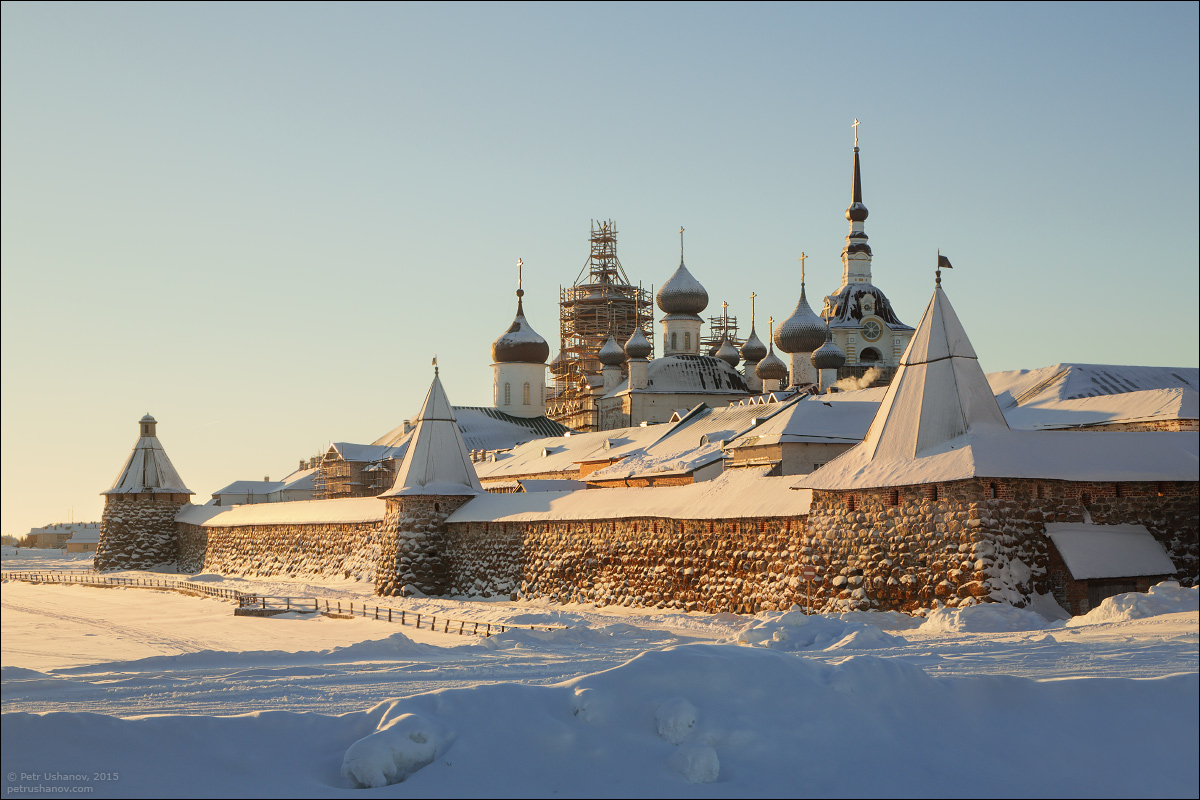 Solovki - the harsh winter Beauty of the North 10