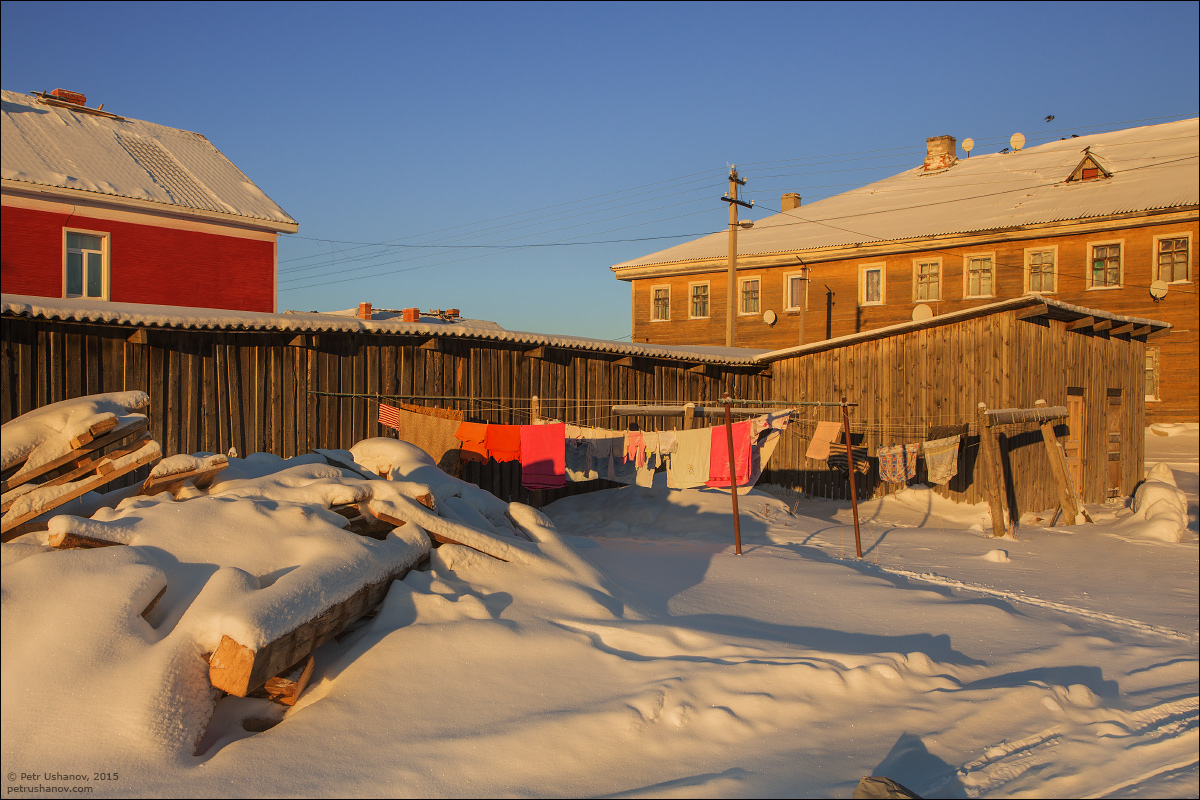 Solovki - the harsh winter Beauty of the North 11