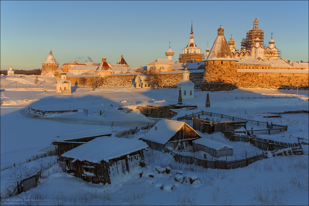 Solovki - the harsh winter Beauty of the North 12