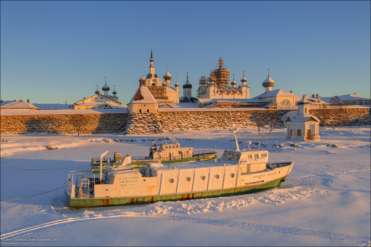 Solovki - the harsh winter Beauty of the North 13